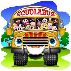 Scuola Bus-School Bus-Autobus école - 2