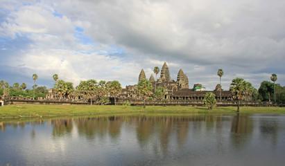 Angkor Vat ,vue d'ensemble