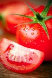 Fototapety Tomates, gros plan