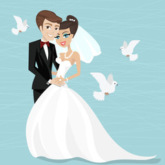 marrying illustration