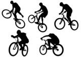 Extreme sport bike poster