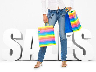 Shopping sales