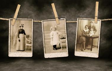Authentic Vintage Family Photographs