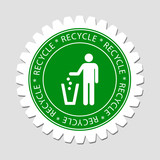 Recycling Sign Label