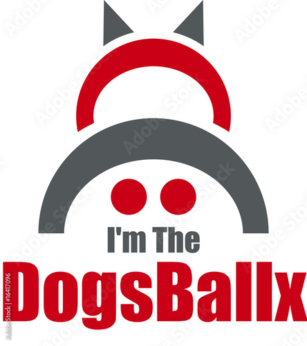 I'm The DogsBallx Logo Design Element
