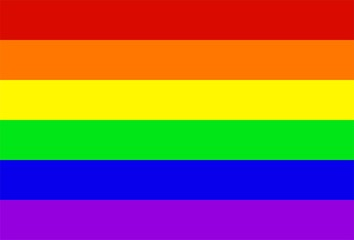 Regenbogen Flagge Vektor