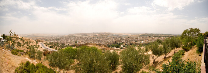 View of Medina, Fes, Morocco