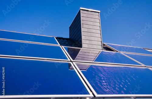 solarthermie, solarzellen