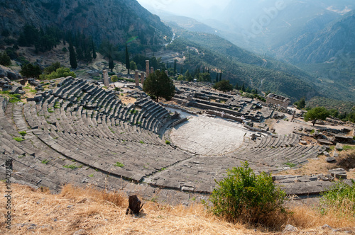 Greek Theatre in Delphi
