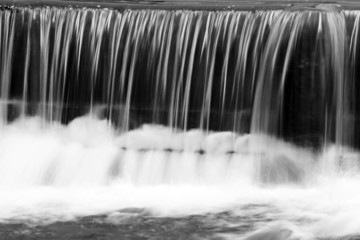water and cascade