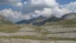 cirque glaciaire dans les Alpes