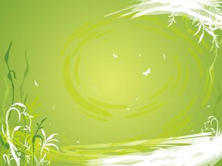 gruene pflanzen