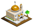 Mosque Isometric