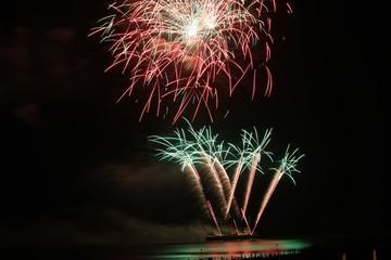 """""""Incendio del Mare"""" @ Lignano Pineta 16/08/2009 -08"""