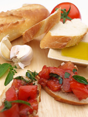 Bruschetta plate