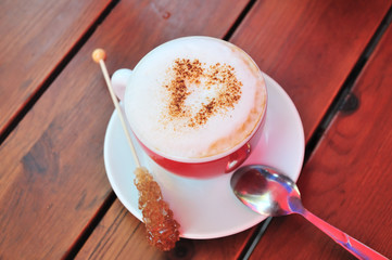 love to cappuccino