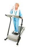 Senior Fitness - Hydration poster