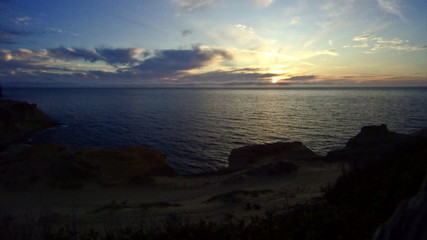 Pacific Coast Sunset