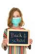 Rentrée scolaire avec grippe