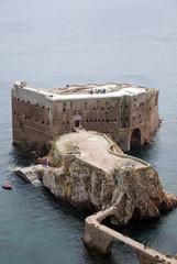 Forte S. João Batista situado no Arquipélago das Berlengas