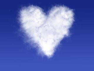 cuore, nuvola