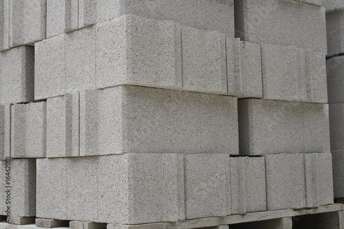 Bloques de cemento (masa) para la construccion de paredes.