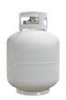 canvas print picture - Propane Cyl. isolated on white