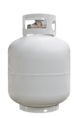Propane Cyl. isolated on white