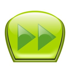 pulsante verde avanti