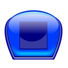 pulsante blu stop
