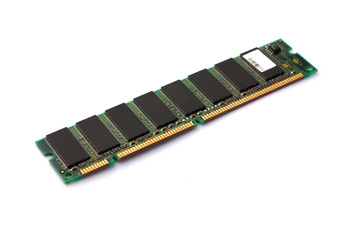 Computer ram isolated on white background