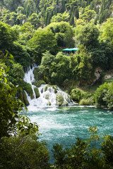 Skradinski Buk - world famous waterfall