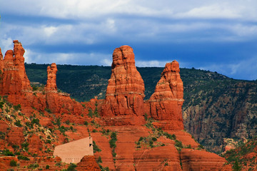 Chapel of the Holy Cross in Sedona, Arizona