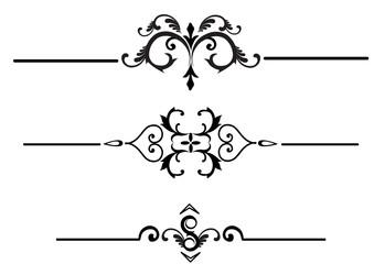 Elegant rule lines