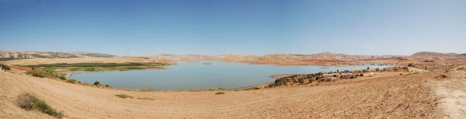panorama lac maroc