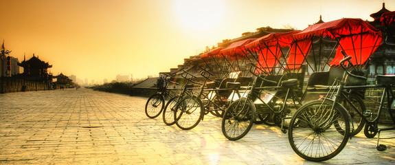 Xi'an / Chiny - murów z rowerów