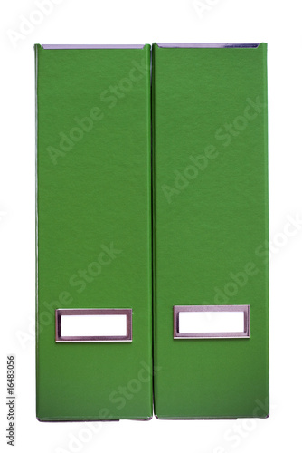 green folders - Ring Binders