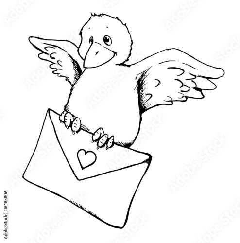 Gamesageddon vogel liebesbrief brief nachricht