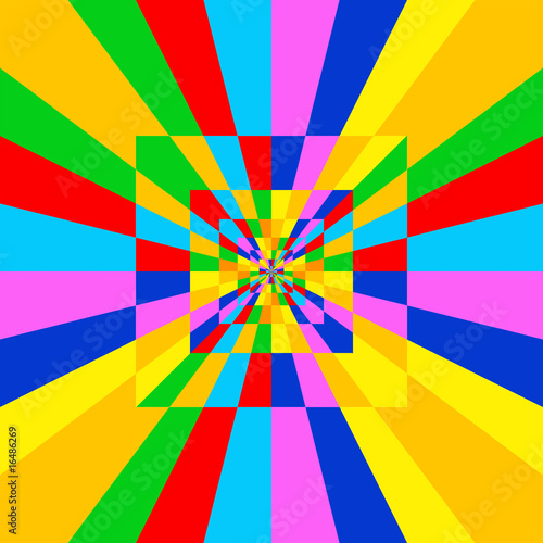 Caleidoscopio Sfondo-Kaleidoscope Background-Multicolor-1