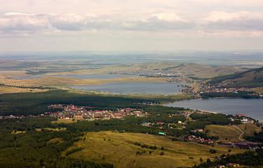 "view from mountain near ""bannoe"" lake"