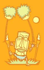 Retro Tiki Witchdoctor #2