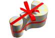 geschenk fragezeichen karo