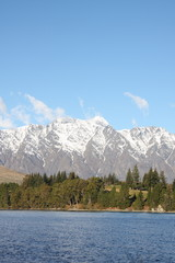 Remarkables mountains in New Zealand