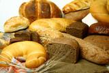 Bakery foodstuffs. poster