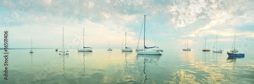 Morning sea - panoramic view - 16501406