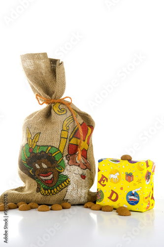 a bag and a present - Sinterklaas