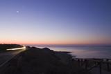 alba in spiaggia poster