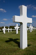 War cemetery cross
