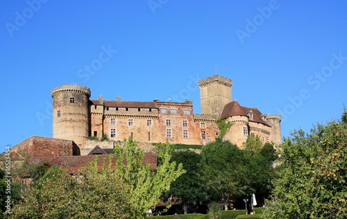 Chateau Castelnau Bretenoux, Lot, France