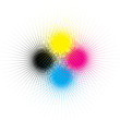 Cmyk background